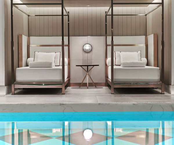 Spa de La Mer at Baccarat Hotel Rooms & Dining