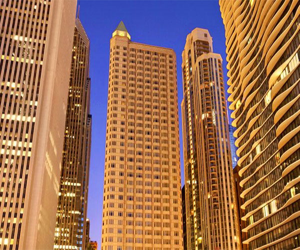 mySpa at Fairmont Chicago, Millennium Park Rooms & Dining