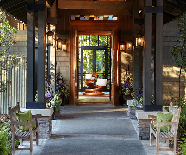 Lodge at Woodloch Rooms & Dining