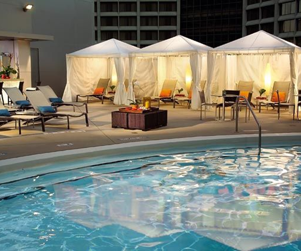 The Spa at the Atlanta Marriott Marquis Rooms & Dining